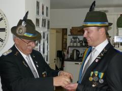 Kralle? Oberst Rolf G. Wilmink und Thomas Römer
